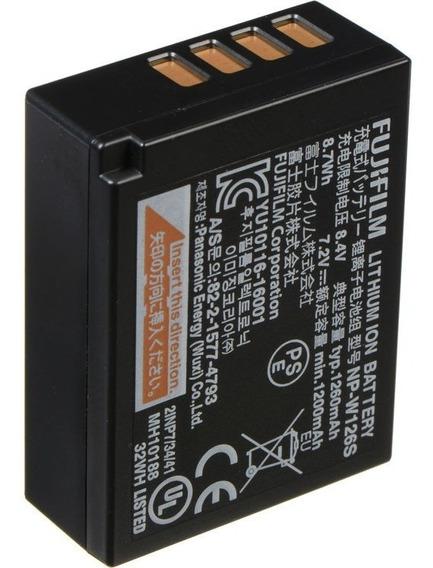 Bateria Original Fuji Npw126 Nota Fiscal Eletronica