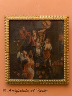 Pintura Estilo Colonial Replica Antigua Republicana