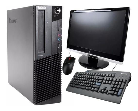 Computador Lenovo Intel I5 3º 2gb Hd 320gb + Monitor 18.5