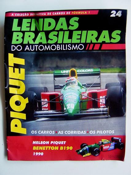 Fascículo 24 - Lendas Brasileiras Automobilismo Benetton