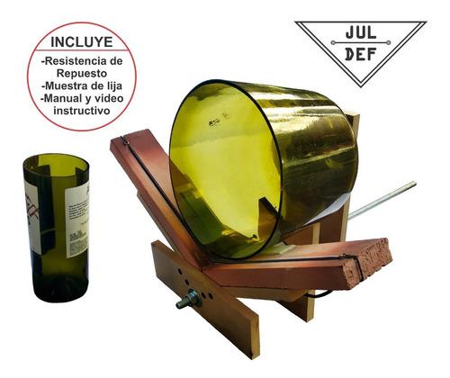 Maquina Corta Botellas / Resistencia Extra