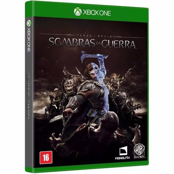 Sombras Da Guerra - Xbox One - Mídia Física Lacrada