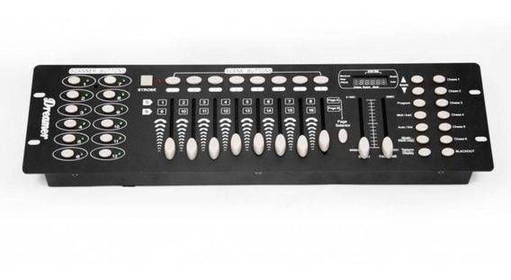 Mesa Controladora Dmx Iluminação Dreamer 192 Canais