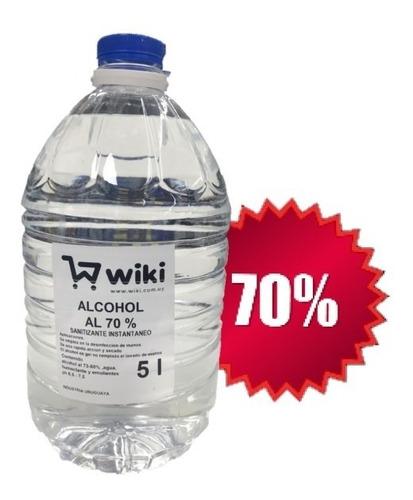 Alcohol Líquido 70% - 10 Litros -
