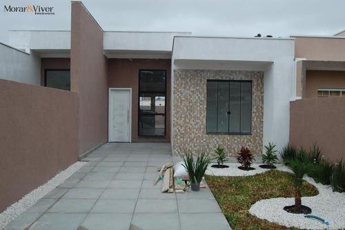 Casa Para Venda Em Fazenda Rio Grande, Iguaçu, 3 Dormitórios, 1 Suíte, 1 Banheiro, 2 Vagas - Faz2552_1-1673668