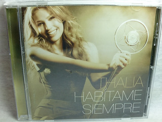 Cd Thalia Habitame Siempre Sony 2012