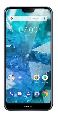 Imagen 1 de 3 de Nokia 7.1 64 GB azul noche brillante 4 GB RAM