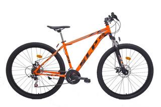 Bicicleta Mountain Bike Rodado 29 Slp 5 - Cambios Shimano Frenos A Disco Llantas Doble Pared Suspension Nueva Happy Buy