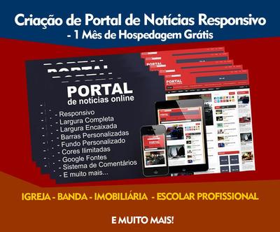 Criação De Portal De Notícias Responsivo