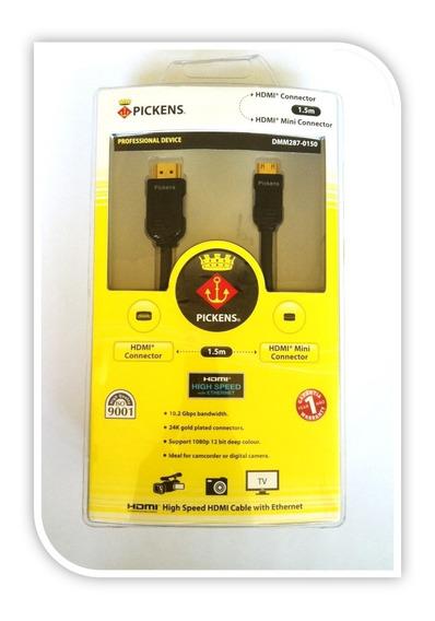 Cable Pickens Hdmi - Mini Hdmi 1.5 Metros