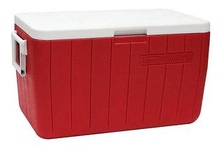 Caixa Térmica Coleman Vermelho 48qt - 45,4 Litros
