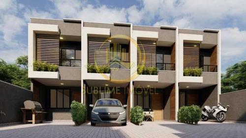 Casas Duplex Com 2 Quartos Para Venda Em Mesquita - Sica20048