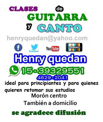 Clases Particulares De Guitarra A Domicilio Zona Morón