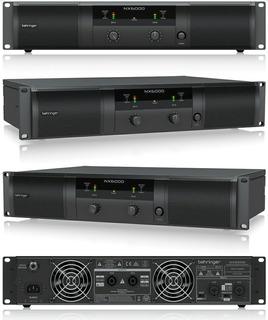 Amplificador De Potencia Digital Bheringer Nx6000