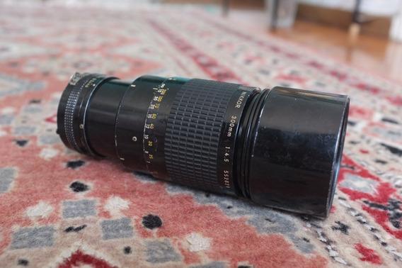 Lente Nikon Nikkor 300mm Ais