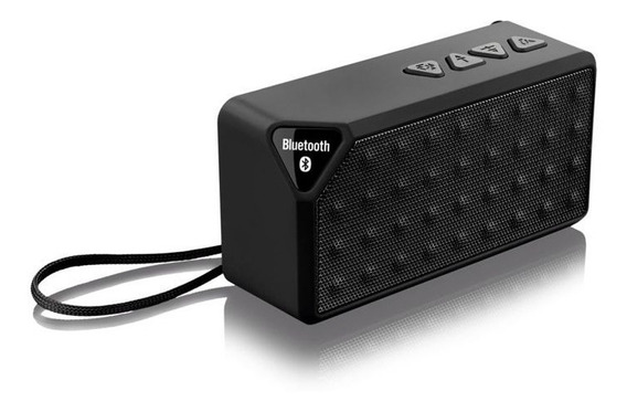 Caixa De Som Multilaser Portátil Bluetooth Micro Sd Rádio 8w