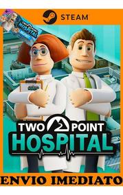 Two Point Hospital + Dlc Pc Original Steam + Brinde