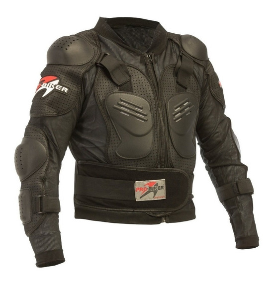 Chamarra Pro Biker Pechera Integral Motocross Enduro Top R