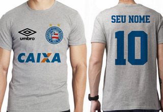 Camiseta Infantil Personalizada Seu Nome Bahia Salvador
