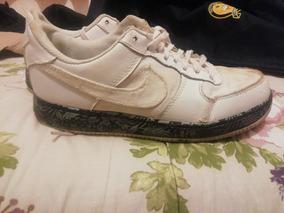 Zapatillas Nike Air Force One Blancas Y Originales