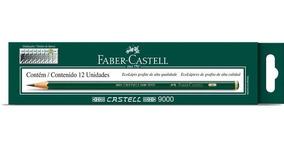 Lapis Grafite Faber-castell H 9000h 12 Un. 9000h 25115