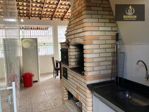 Casa Com 2 Dormitórios À Venda, 81 M² Por R$ 269.000 - Jardim Grandesp - Itanhaém/sp - Ca1181