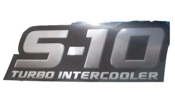 Adesivo S10 Turbo Intercooler 94718904 Original Gm Novo