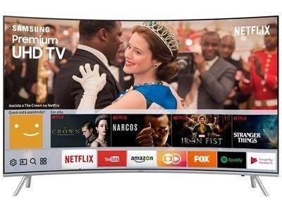 Smart Tv 55 Lcd Led Samsung Un55mu7500gxzd, Hdr 1000, Curva