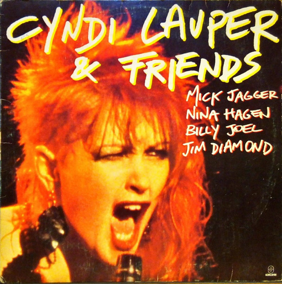 Cyndi Lauper Lp 1985 Cyndi Lauper & Friends Somlivre 12126