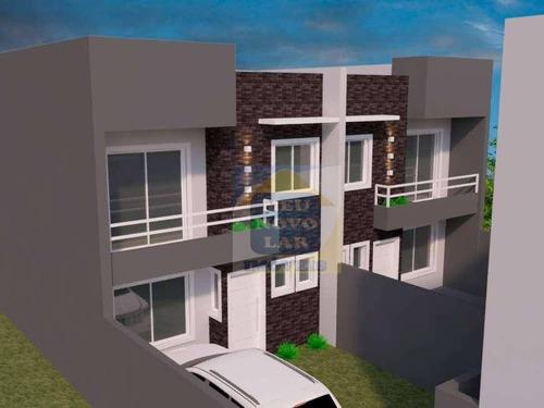 Sobrado Com 3 Dormitórios À Venda, 136 M² Por R$ 647.000,00 - Santa Felicidade - Curitiba/pr - So0255