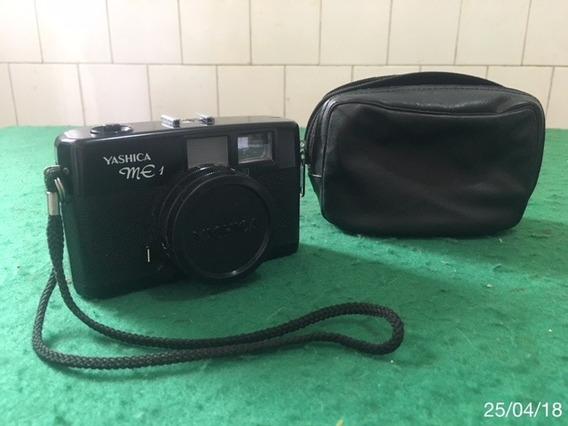 * Câmera Yashica Me1 C/ Disp. Automático + Bolsa Original *