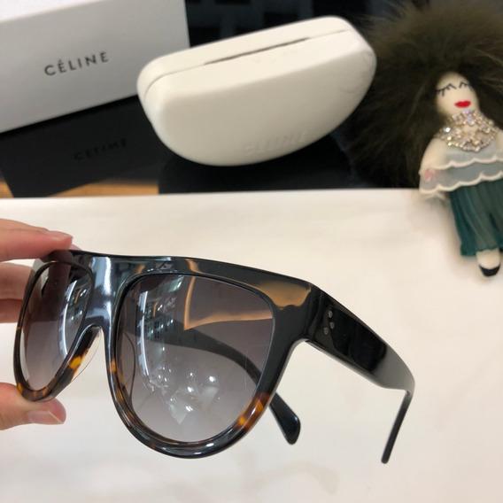 Óculos De Sol Celine Cl 41398/s Andrea - Preto Degrade