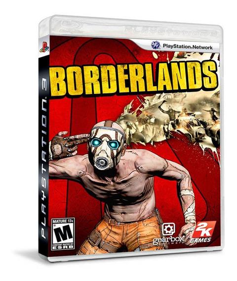 Jogo Borderlands Ps3 Mídia Física