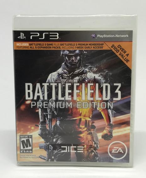 Jogo Ps3 Battlefield 3 Premium Edition - 31068