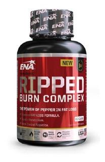 Ripped Burn Complex Ena Quemador Grasa 60 Caps