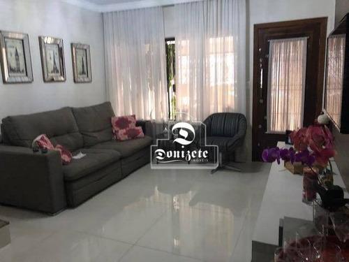 Sobrado Com 3 Dormitórios À Venda, 190 M² Por R$ 1.100.000,00 - Campestre - Santo André/sp - So3193