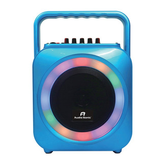 Parlante Portatil Potenciado Audio Sonic As605 Bt Fm Mp3