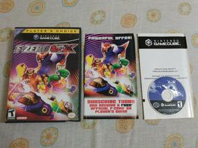 Game Cube: F-zero Gx Na Caixa + Encartes! Raríssimo! Jogão!