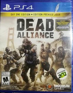 Juego Dead Alliance Ps4 Nuevo Sellado Fisico