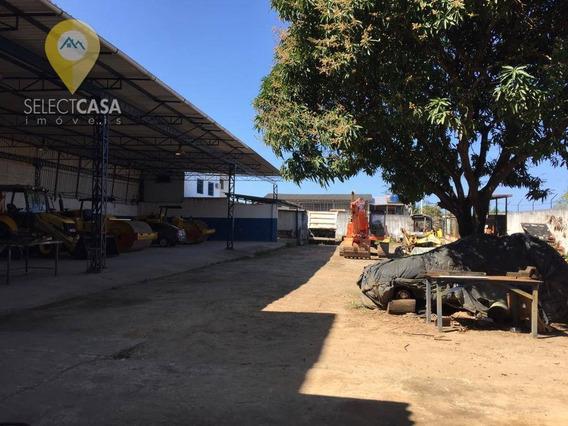 Alugo Excelente Galpão Em Jardim Limoeiro - Ga0002
