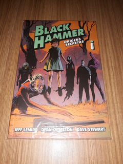 Hq Black Hammer-origens Secretas (seminovo)