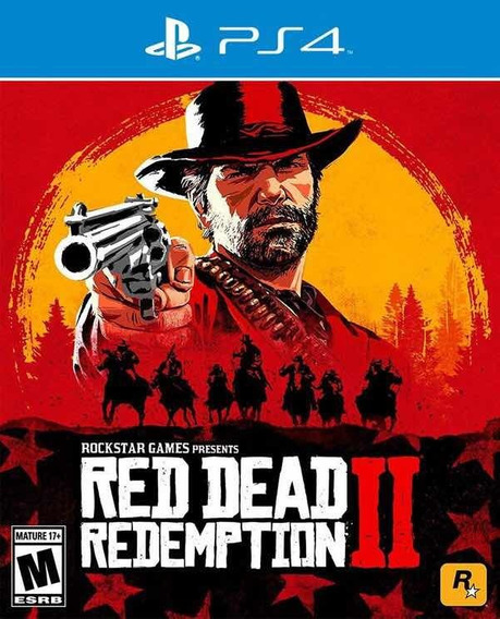 Red Dead Redemption 2 - Ps4 - Mídia Digital Primária