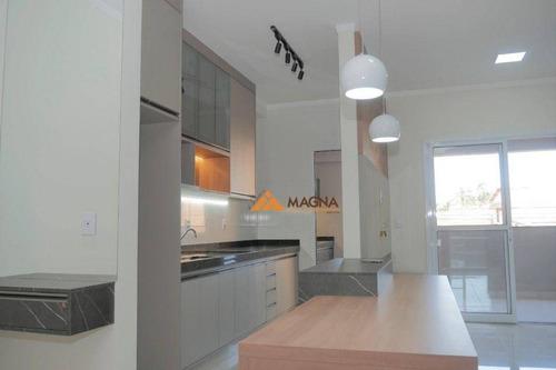 Imagem 1 de 10 de Apartamento Com 3 Dormitórios À Venda, 93 M² Por R$ 373.658,00 - Ribeirânia - Ribeirão Preto/sp - Ap4623