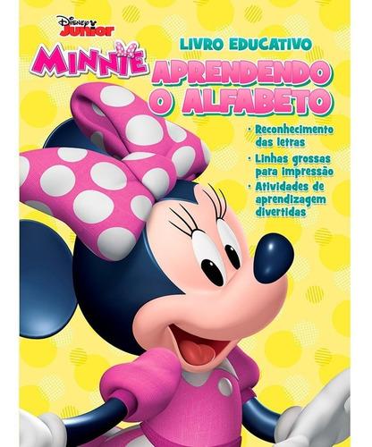 Imagem 1 de 1 de Livro Infantil Alfabeto Minnie Bicho Esperto Pt 1 Un