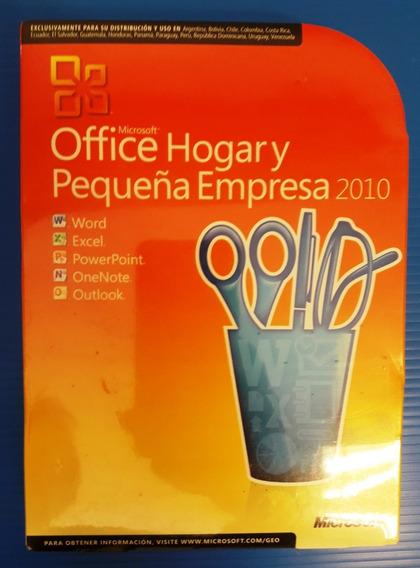 Microsoft Office 2010 Hogar Y Pequeña Empresa 2010 Español