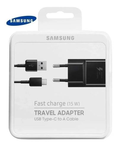 Imagem 1 de 2 de Carregador Turbo Samsung Fast Charge 15w Tipo C Anatel