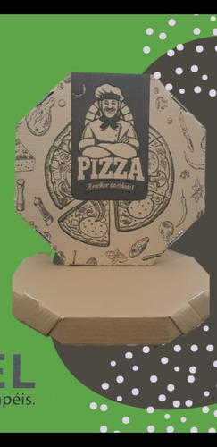 Imagem 1 de 1 de Caixa De Pizza Oitavado 35 Com 25 Unidades