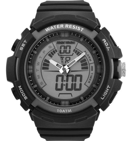 Relógio Mormaii Anadigi Original Esportivo Moad08902/8c + Nf