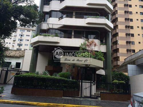 Imagem 1 de 15 de Apartamento Com 3 Dorms, Gonzaga, Santos - R$ 890 Mil, Cod: 4164 - V4164
