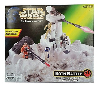 Star Wars Hoth Battle El Poder De La Fuerza - Alianza Rebeld
